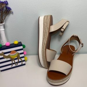 Lucky Brand Jeneka Espadrille Platform Sandals
